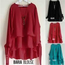 blouse wanita beli baju atasan wanita baria blouse unik http www butikjingga