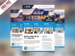 free real estate flyer templates best free flyer templates psd css author