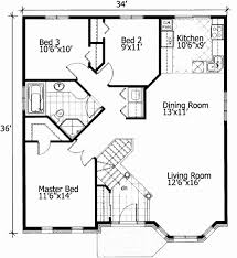 cottage floor plans free tiny house floor plans free barrier free small house plan 90209pd