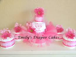 tutu centerpieces for baby shower cakes by emily cake centerpieces