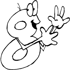 8 coloring pages numbers coloring