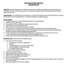 resume job description cna sports marketing brand ambassador job description resume http