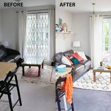 Before And After Living Rooms by Small Changes Have Made A Big Difference In This Parisian Style