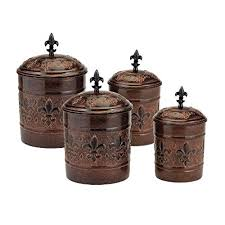 brown kitchen canister sets brown kitchen canisters