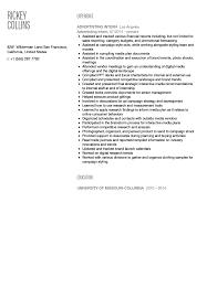 advertising intern resume sample velvet jobs