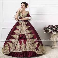 18th Century Halloween Costumes 18th Century Dress Burgundy Promotion Shop Promotional 18th