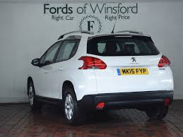 used peugeot prices used peugeot access plus hdi white 2015 1 4 in manchester north