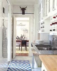 Opening Up A Galley Kitchen Eclectic Modern Inspiration Martha Stewart