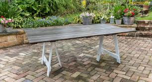 making a trestle table making a trestle dining table loccie better homes gardens ideas