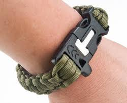 survival bracelet with whistle buckle images Survival paracord bracelet with compass emergency rope whistle jpeg