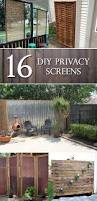 Backyard Screens Outdoor by Best 20 Diy Privacy Fence Ideas On Pinterest Patio Privacy Diy