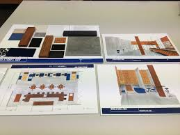 Interior Design Material Board by Work Examples Tsquared