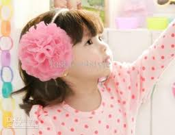 kids hair accessories top baby infant children s beautiful flower hair