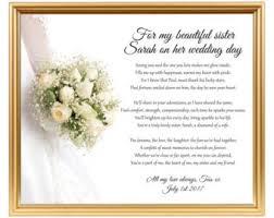hochzeitsgeschenk schwester wedding etsy