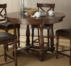 Round 54 Inch Dining Table Counter Height Round Dining Table Dining Tables