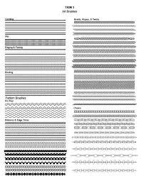 pattern drawing illustrator 14 best illustrator fashion brushes images on pinterest pattern