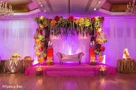 modern wedding reception stage decorations reception stage