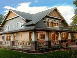 craftsman style columns porch homes with large front porches