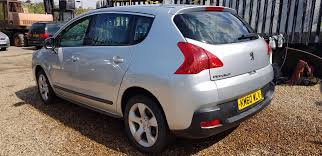 peugeot sports cars for sale used peugeot 3008 1 6 hdi 112 sport 5dr 5 doors hatchback for sale
