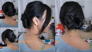 easy hairstyles for wavy medium length hair 2 minute updo for medium length hair french twist with a twist