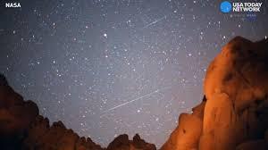 light in sky today lyrid meteor shower to light up night sky