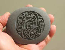 home decor stones celtic design home decor stone paperweight hand carved stone