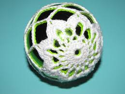 simply crochet and other crafts poinsettia christmas ball