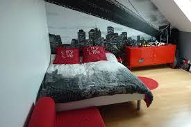 chambre ado et gris chambre adolescent garcon et gris idées décoration