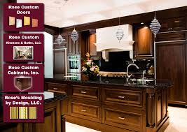 rose custom doors cabinets kitchens baths mouldings by design