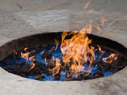 Propane Fire Pits With Glass Rocks by Propane Vs Natural Gas For A Fire Pit Hgtv