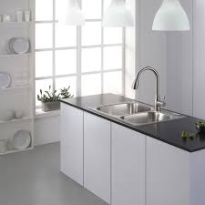 installing a kitchen sink faucet light cherry cabinets replacing a sink faucet moen chateau parts