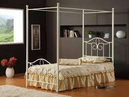 King Size Canopy Bed Frame Amazing Iron Canopy Bed Ideas Home Design By John