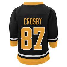 Pittsburgh Penguins Halloween Shirt Nhl Sidney Crosby Toddler Boys U0027 Player Jersey Pittsburgh Penguins