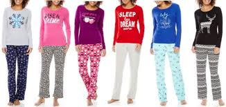 jcpenney 10 off 25 purchase u003d 2 women u0027s pajama sets only 8 99