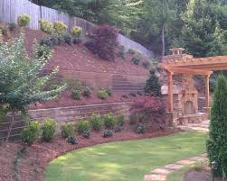 Landscaping Pictures Of Backyards Steep Hillside Landscaping Ideas Steep Like Ours Landscape