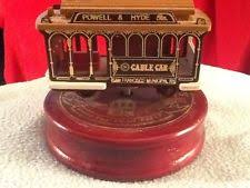 Unique Music Box San Francisco Cable Car Music Box Ebay