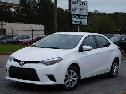 how much is a toyota corolla 2016 used toyota corolla 4dr sedan automatic l at marietta auto
