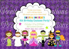 Kid Halloween Birthday Party Ideas by Halloween Birthday Party Invitations Gangcraft Net Halloween