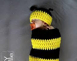 Etsy Newborn Halloween Costumes Baby Bee Costume Etsy