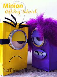 minion gift bags despicable me minion gift bag idea