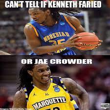 Kenneth Meme - kenneth faried or jae crowder meme