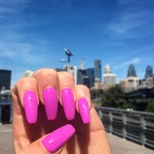 i love this purplish pink color nails jeanapvp pinterest
