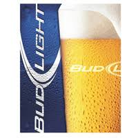 bud light metal sign frothy bud light glass tin sign http www retroplanet com prod