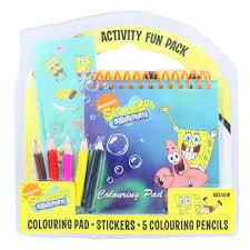 nickelodeon spongebob squarepants activity fun pack by unknown