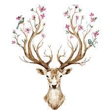 christmas deer haochu modern nordic kawaii christmas deer painting diy