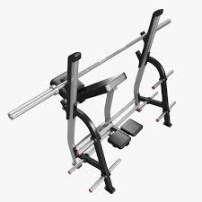 3d model incline bench press by nautilus cgtrader