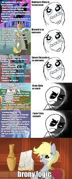 Brony Memes - brony logic my little pony friendship is magic know your meme