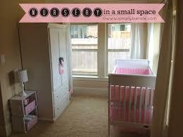 nursery in a small space simplykierste com