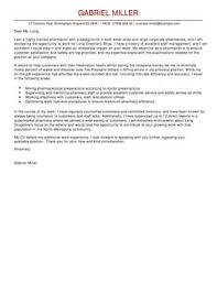 pharmacist cover letter examples for healthcare livecareer
