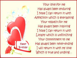 birthday poems messages lovely messages